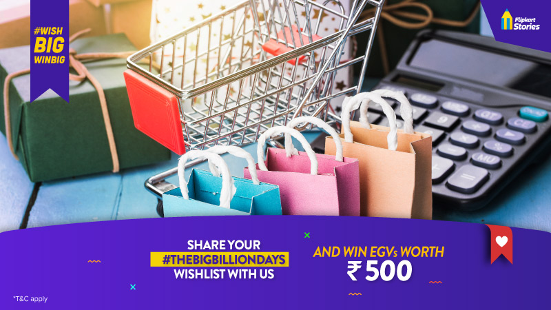 #WishBigWinBig – Tell us what's in your wishlist for Big Billion Days 2020 and win exciting prizes!