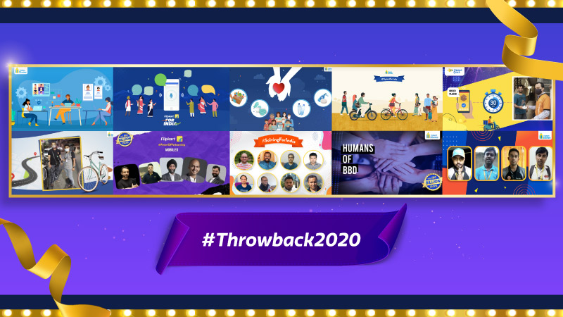 #Throwback2020 Look back at the most inspiring stories from a remarkable year