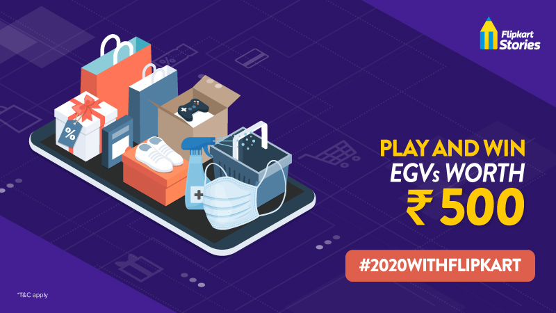 #2020WithFlipkart: Play our special End-Of-Year contest and win big!