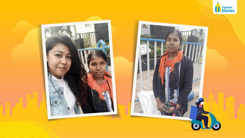 #WomenAtFlipkart – In Kolkata, a woman Wishmaster inspires our customer to write in!