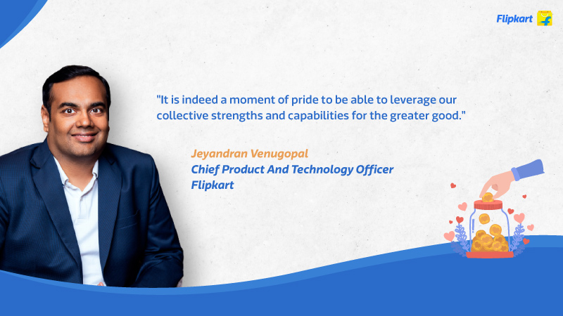 Check-out Giving Flipkart GiveIndia Covid-19 Jeyandran Venugopal