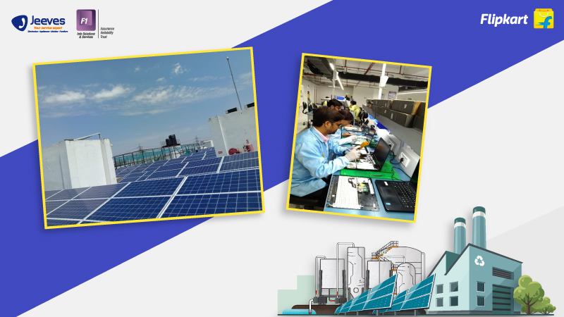 Repair, Refurbish, Reuse & Reduce: Solar power is just one of many green wins at this Jeeves-F1 factory