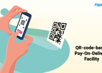 Enjoy a 100% digital shopping experience with Flipkart's QR code-Pay-On-Delivery facility
