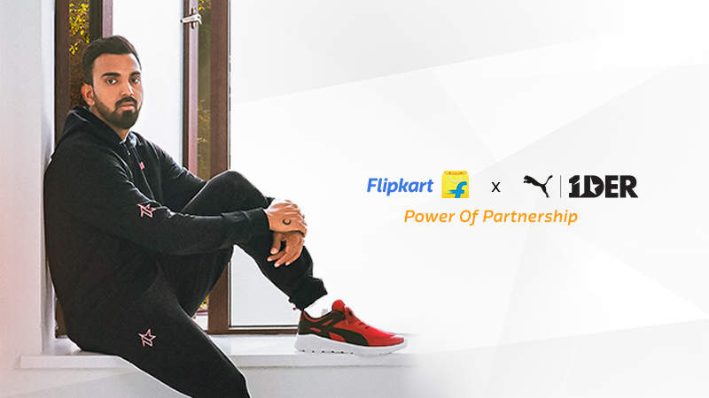 Flipkart and PUMA celebrate the power of partnership with KL Rahul's athleisure collection 1DER